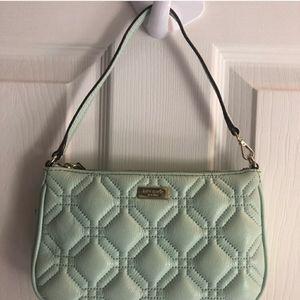 Kate Spade Astor court small handbag purse mint